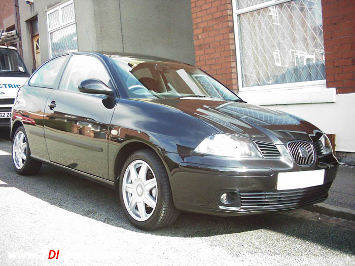 mk4 seat ibiza 1.9 tdi with cupra air-intake