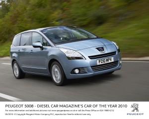 Peugeot 5008 Diesel Car Award