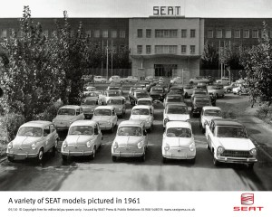 SEAT Celebrating 60 years of manufacturing