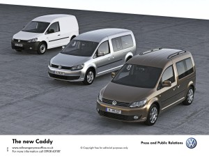 New VW Caddy TDI