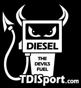 TDISport Diesel Sevil Sticker